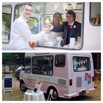 ice cream for wedding