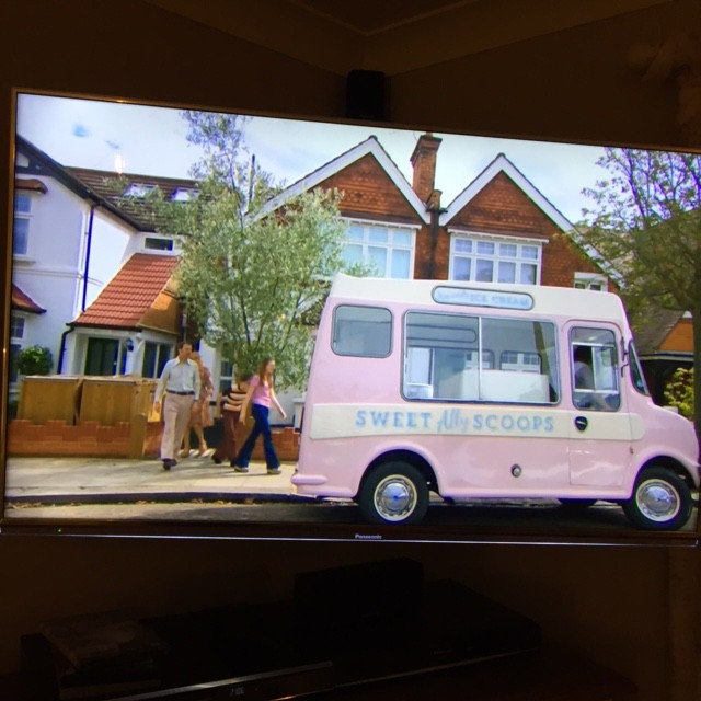 Pink Ice Cream Van on BBC2