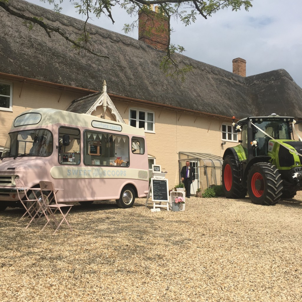 Pink Ice Cream Van Suffolk