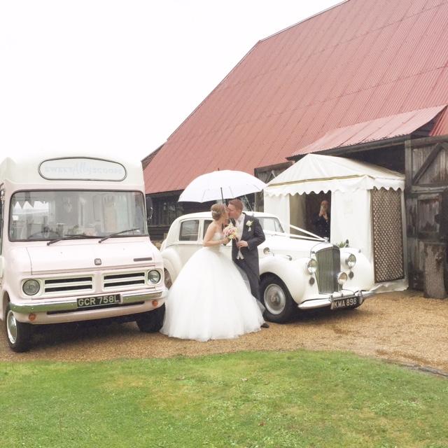 raining wedding